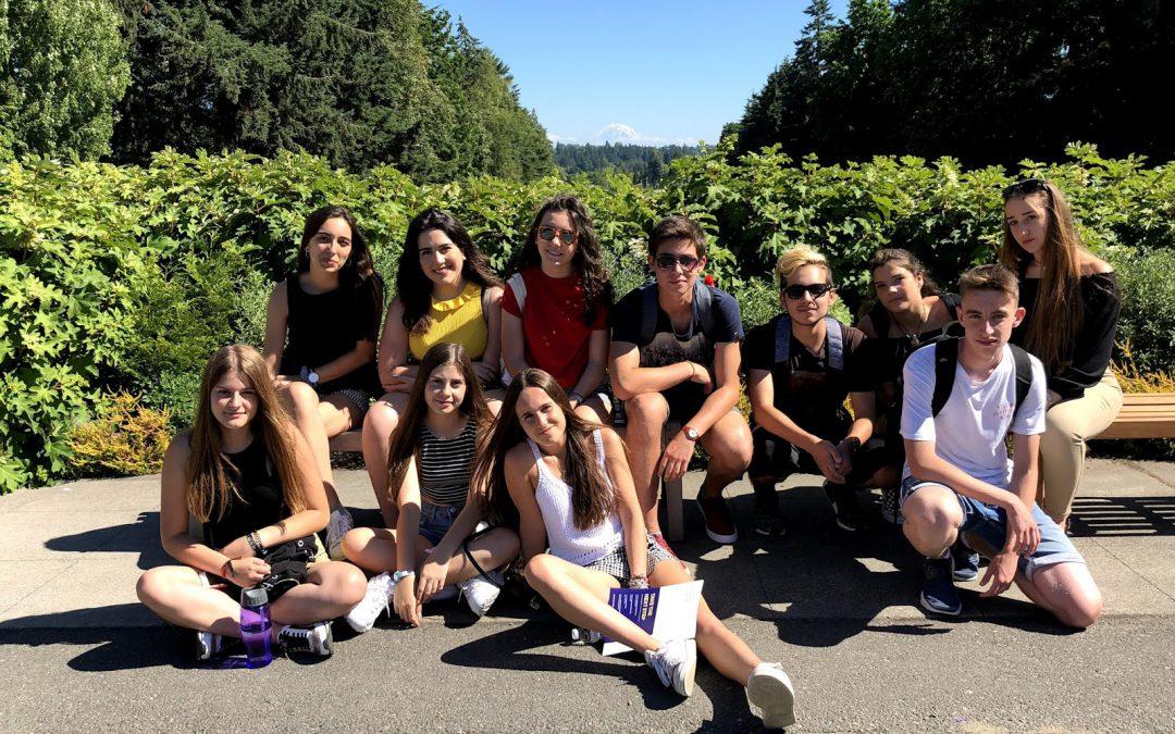 We visited the prestigious University of Washington