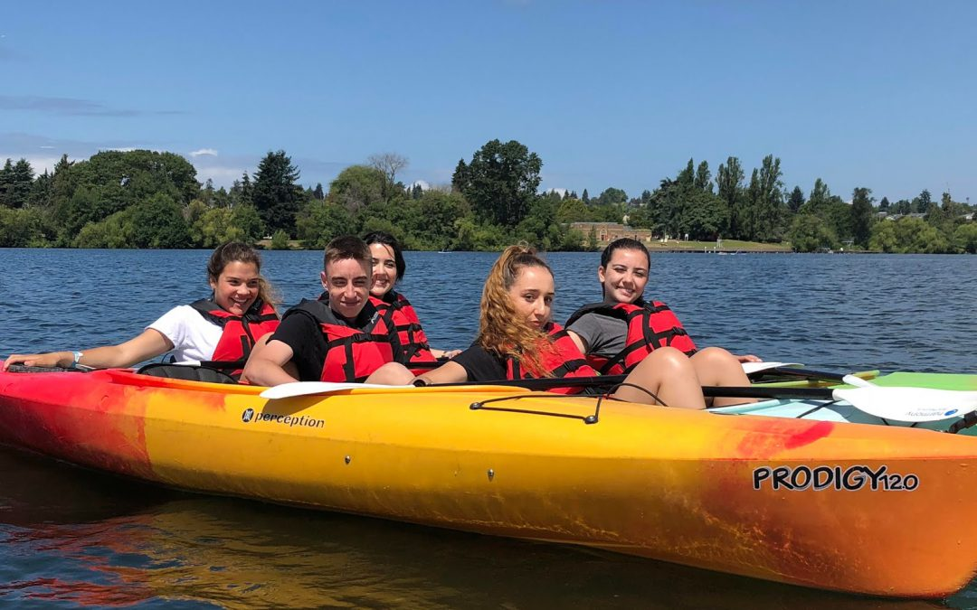 Kayaking at GREENLAKE